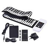 ammoon-Silicona-Porttil-88-Teclas-Rollo-Up-de-Mano-Piano-Electrnico-Teclado-USB-Built-in-Li-ion-y-Altavoz-con-un-Pedal