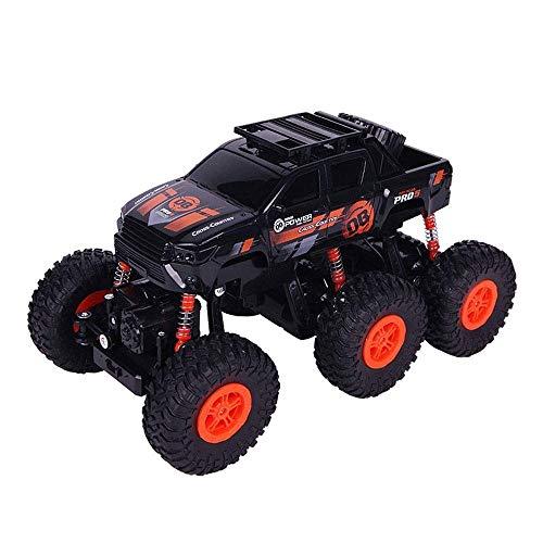 Tritow Seis Rondas 2.4G Hummer Control Remoto Coche Tracción a Las Cuatro Ruedas inalámbrico RC Bigfoot Off-Road Coche Eléctrico Playa al Aire Libre Coche de Carreras Niños RC Toy Cars