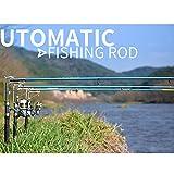 Starall 2.1/2.4/2.7m Automatische Angelrute empfindliche Teleskopstange Meereis Glasfaser Carp Fishing Tool