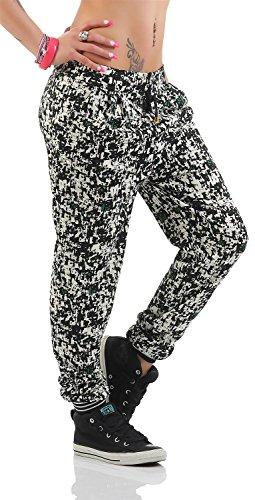 Damen Hose Pumphose Sommer-Hose mit 5 Muster Gr. S M L XL, 36 38 40 42 Muster 2