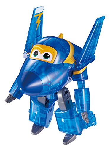 Auldeytoys EU720410C Super Wings Jerome X-Ray Spielzeugfigur Transformer Medium, Blau