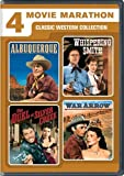 4 Movie Marathon: Classic Western Collection (Albuquerque / Whispering Smith / The Duel at Silver Creek / War Arrow) by Randolph Scott