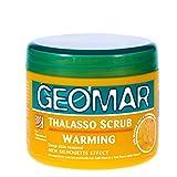 Geomar Thalasso Scrub Warming - esfoliante con sale rosso delle Hawaii, 600 grammi - contiene solo ingredienti naturali - peeling corpo - liscio e morbido con effetto calore