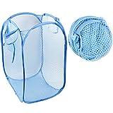 Bhcstore Bolsa de lavado Bolsa de lavandería Bolsa de lavandería Caja de lavandería Cesta de lavandería Niño juguetes Cesta de lavado Cesta de lavandería Cesta de lavandería Plegable pop-up popup