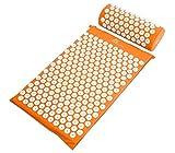 ProSource Fit Akupressurmatte und Kissen Set für Rücken-/Nacken-Schmerzlinderung und Muskelentspannung