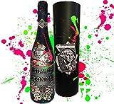 Black Money Premium-Cuvée Collector's Edition **streng limitert** Handarbeit in 3D DAS Luxus Geschenk für Männer Champagner Liebhaber und Millionäre