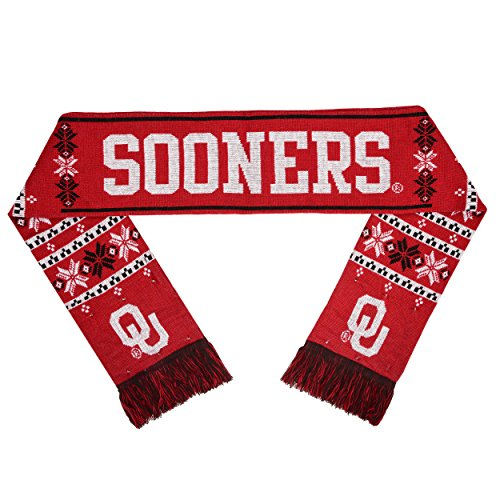 Forever Collectibles NCAA Oklahoma Sooners Light Up Schal, eine Größe, rot