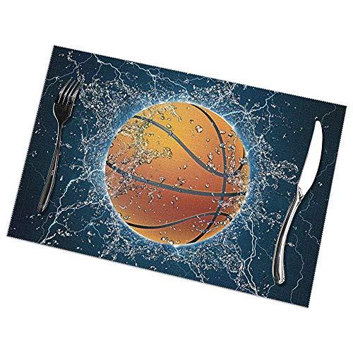 Suo Long Basketballkugel Auf Wasser. Tischsets Für Esstisch Tischsets