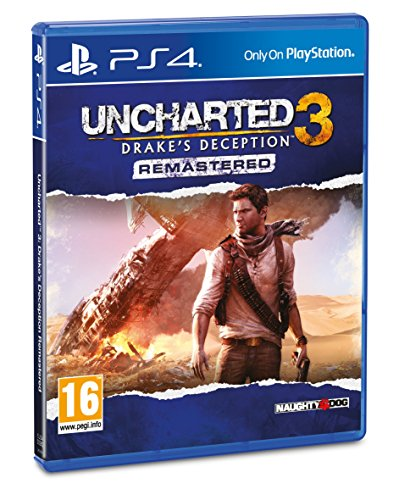 Uncharted 3 Drakes Deception Remastered lowest price
