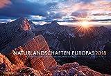 Naturlandschaften Europas 2018 - Bildkalender quer (50 x 34) - Landschaftskalender: by Tobias Richter - Tobias Richter, ALPHA EDITION