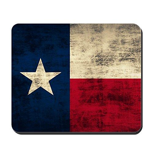 CafePress-Texas Flagge-rutschfeste Gummi Mauspad, Gaming Maus Pad