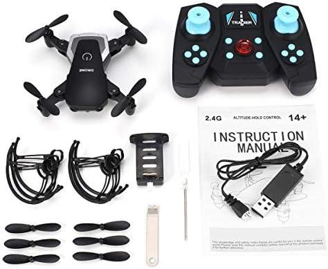 Wafalano 808 2.4 Ghz Mini Poche Pliable RC Quadcopter Drone Drone Drone Altitude D'aéronef Tenir Une Clé Retour sans Tête Mode 3D Flip LED Contrôle   De Grandes Variétés  0336ea