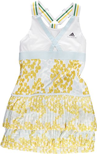 by Stella McCartney Barricade Dress Caroline Wozniacki Weiß, Gelb, Hellgrün, 36 ()