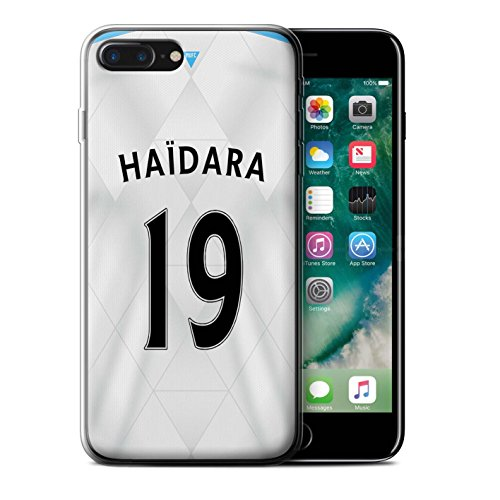 Officiel Newcastle United FC Coque / Etui Gel TPU pour Apple iPhone 7 Plus / Pack 29pcs Design / NUFC Maillot Extérieur 15/16 Collection Haïdara