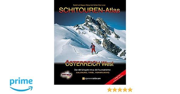 SCHITOUREN-ATLAS Österreich West: Über 400 Schigipfel in ...
