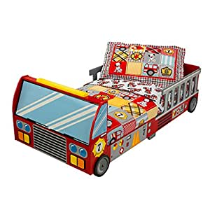 KidKraft Kinderbett Feuerwehrauto