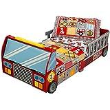 KidKraft - Cama en forma de camión de bomberos (76031)