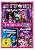 Monster HighTM - Mega Monsterparty / 2 Monsterstarke Filme (Wettrennen um das Schulwappen & Monsterkrass verliebt) [2 DVDs]