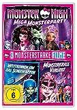 Monster High™ - Mega Monsterparty / 2 Monsterstarke Filme (Wettrennen um das Schulwappen & Monsterkrass verliebt) [2 DVDs]