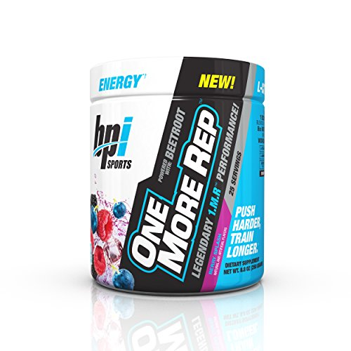 51Q7DGFTITL. SS500  - Bpi Sports One More Rep Pre Workout Powder Energy Drink with Beetroot for Muscle Pump