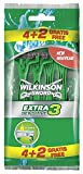 Wilkinson Sword Extra 3 Sensitive Einwegrasierer 4 plus 2 gratis