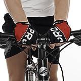 #7: Sportigo Unisex PRO-X CYCLING Gloves - Black/Red