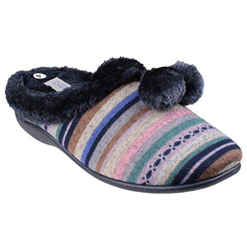 Mirak Chabilis - Pantofole da Casa Invernali Colorate - Donna Rosso