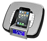Best Clock Radio For Iphones - Pyle PyleHome PICL29B Docking/Aux Input Clock Radio Review