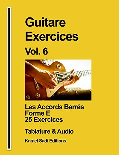 Guitare Exercices Vol. 6: Les Accords Ba...