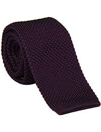 "AINOW Mens Vintage Smart Casual Men's 2"" Skinny Knit Tie Necktie - Various Colors"
