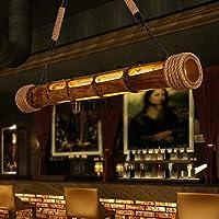 Wandun Lampade Da Giardino Di Bambù Intagliato Decorativo Di Corda