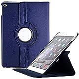 Dorado 360 Degree Rotating Leather Case Cover Stand For Apple IPad Air 2 IPad 6 - A1566 / A1567 (Air2 RC Blue)