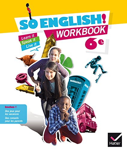 So English! 6e éd. 2015 - Workbook