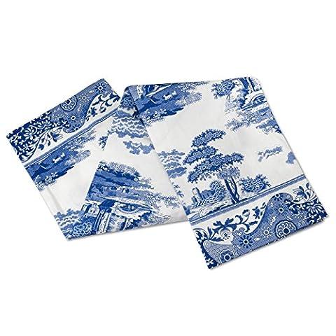 Blue Italian 45 x 74 cm Cotton Tea Towel,