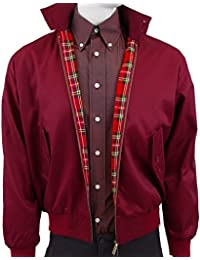 Warrior Classic Harrington Jacket BURGUNDY Large 40-42