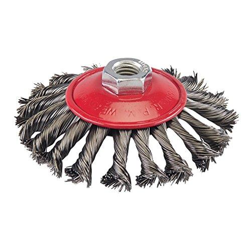 silverline-580493-stahldraht-scheibenbrste-gezopft-115-mm