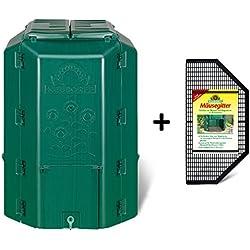 Neudorff 775DuoTherm Composteur Thermique avec grilles de Protection Anti-rongeurs 530l