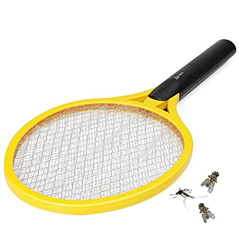 Fly swatter,VIAEON wasp trap fly killer mosquito bug zapper racket electric fly swatter
