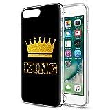 Eouine Coque iPhone 6s, Coque iPhone 6, Etui en Silicone 3D Transparente avec Motif...