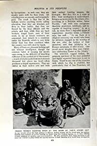 HUTTE INDIENNE BOLIVIE d'ADOBE de PORTE de SYSTÈME des FEMMES c1920
