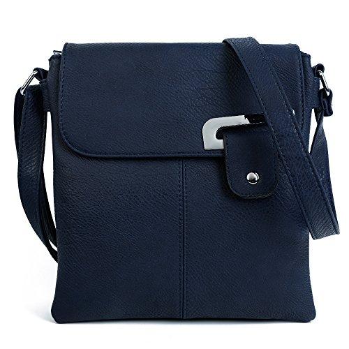 1a4779112326 Craze London Womens Medium Multiple Pockets Trendy Cross body Messanger  Shoulder bag