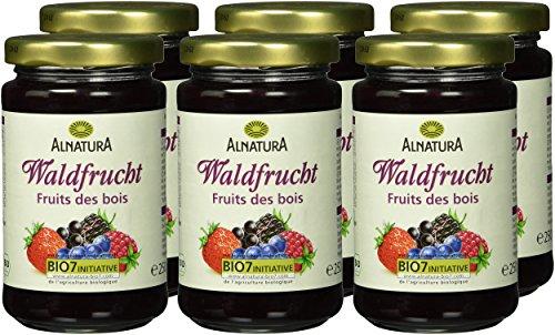Alnatura Bio Fruchtaufstrich Waldfrucht, vegan, 6er Pack (6 x 250 g) - 2