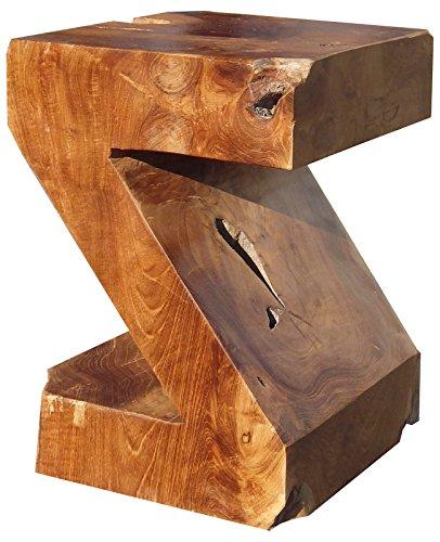 Beho Natürlich gut in Holz Z Hocker aus Teakholz ca. 28x28 cm Höhe 40 cm 2665 Deko Beistelltisch Nachtschrank Hocker statt € 99,00 nur € 69,00 (Z-28 Ca)