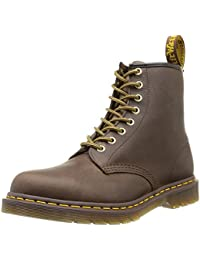Dr. Martens 1460 Milled Smooth, Scarpe Stringate Basse Brogue Unisex-Adulto