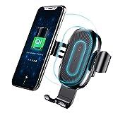 Wireless Car Charger Mount, Baseus Schwerkraft Auto Mount Air Vent Handyhalter, 10W Gebühr für Samsung Galaxy S8 S7 / S7 Edge, Hinweis 8 5, Standard-Gebühr für iPhone X, 8/8 Plus und Qi Enabled Geräte