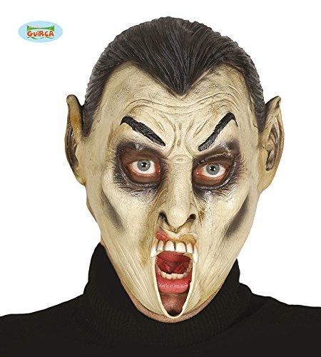 Guirca Vampir Latex Maske Vampirmaske für Erwachsene Halloween Horror Party Dracula