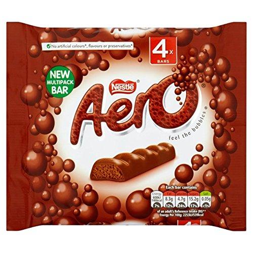 Aero Milk Bubbly Bar Multipack 3 x 40g