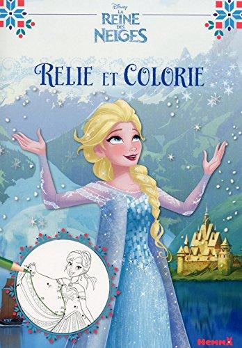 Disney - La Reine des Neiges - Relie et colorie