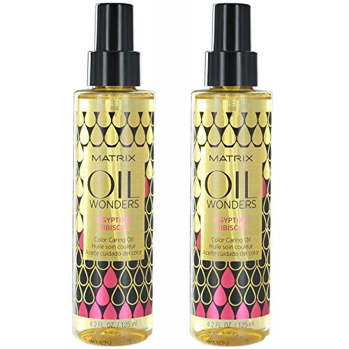 Matrix Oil Wonders Egyptian Hibiscus Color Caring Oil, 2er Pack (2x 100ml)