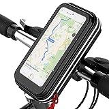 Fahrrad Handyhalterung, Lovicool Handyhalter Fahrrad Tasche Rahmentasche Fahrrad Lenkertasche Wasserdicht Stoßfest für 3.5-6.2 Zoll Sensitive Touch-Screen